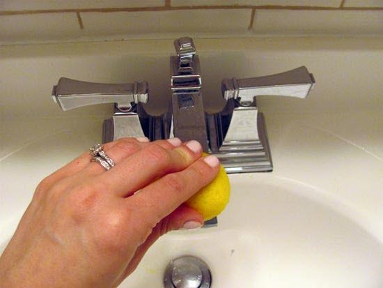 Có thể sử dụng chanh để vệ sinh bồn tắm hiệu quả